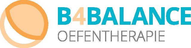 Logo B4Balance Oefentherapie
